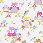 Tapeta KIDS HOME 100115 sowy sówki