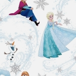 Tapeta KIDS HOME 101395 FROZEN ANNA ELSA OLAF