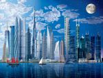 FOTOTAPETA - FOTOTAPETY -  World's tallest Buildings   00120   366 x 254 cm