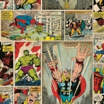 Tapeta KIDS HOME 70-264 MARVEL KOMIKS