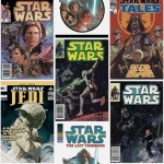 Tapeta KIDS HOME 70-454 STAR WARS POSTER FRONTS
