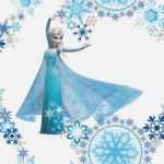 Tapeta KIDS HOME 70-540 FROZEN SNOW QUEEN