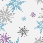 Tapeta KIDS HOME 70-541 FROZEN SNOWFLAKE