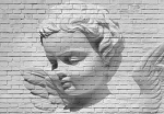 Fototapeta 160 Angel Brick Wall 3D